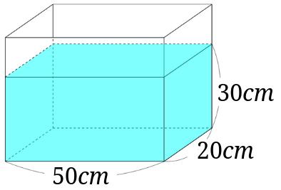 水槽の寸法